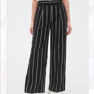 NWT Striped Wide Leg Pants